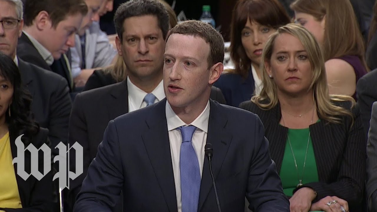 """Zuckerberg: """"I started Facebook. I run it. And I'm responsible for what happens here."""""""