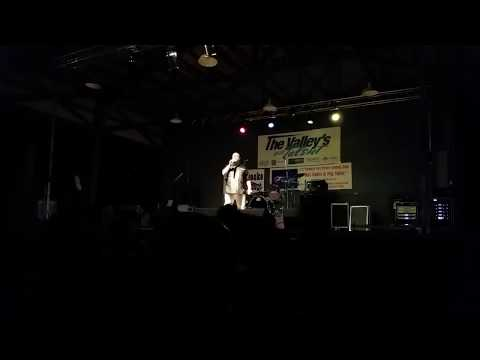 Mike Regan Sings Van Halen Aftershock at the Nez Perce County Fair 2016