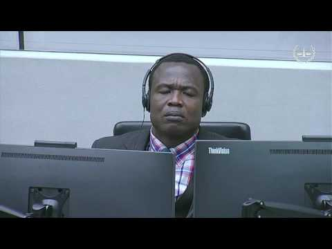 """Ongwen case: """"In the courtroom"""" programme, 16 January - 3 February 2017"""