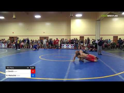 2018 Marine Corps US Open/Masters B Greco Roman 78 5th Place - Jayson Smith (Unat) Vs. Ryan Meloch