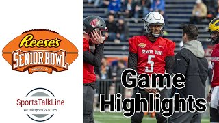 Gambar cover Reese's Senior Bowl Halftime Highlights 2020