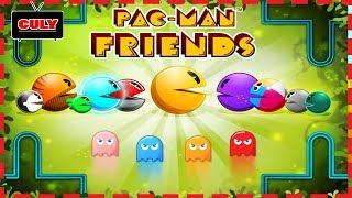 Chơi Pacman Friends | pac-man và những người bạn - cu lỳ chơi game vui nhộn lồng tiếng