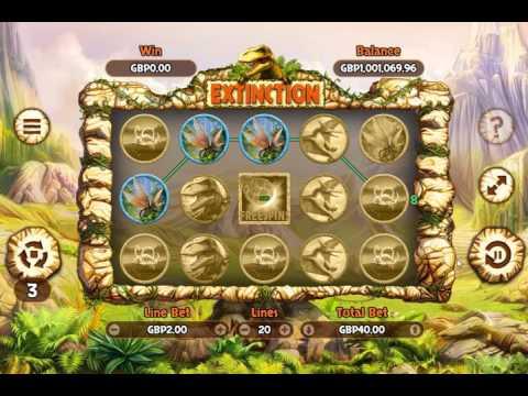 Игровой автомат Extinction (Odobo)