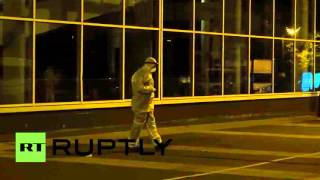 France: Forensic officers comb area outside Stade de France