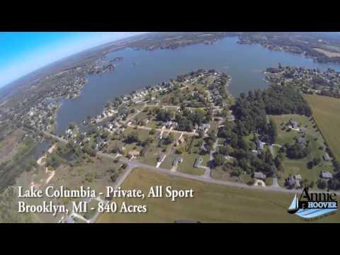Lake Columbia Flyover