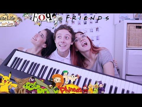 Cantando series de nuestra infancia - mashup?!