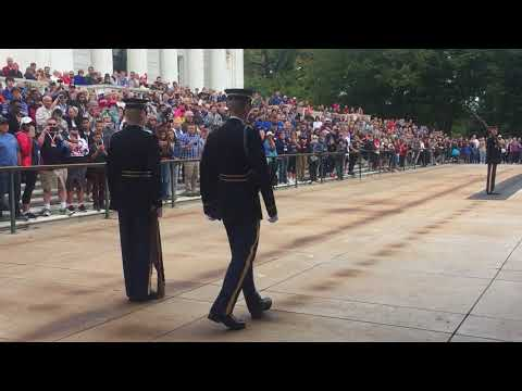 PSHF at Changing of the Guard/Arlington National Cemetery