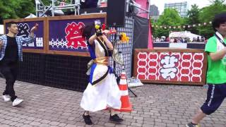 YOSAKOIソーラン祭り・大通7丁目会場ワオドリスクエア・「アイドルカレ...