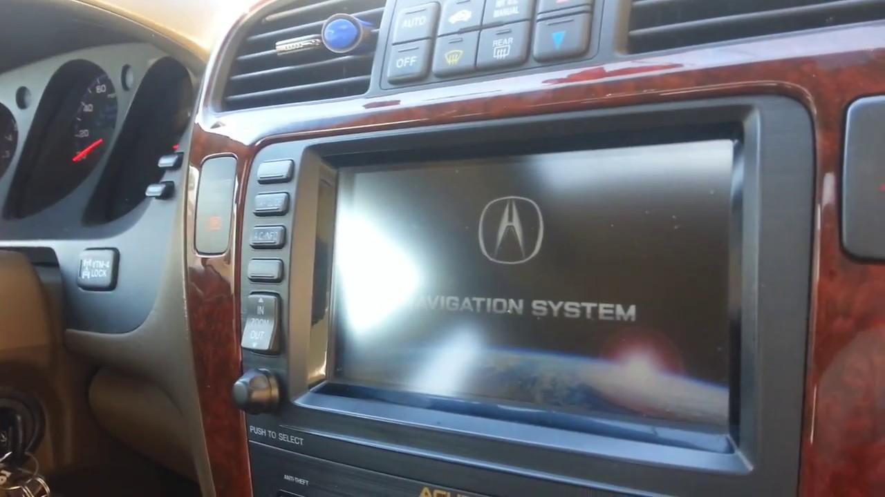 medium resolution of 2005 acura mdx all interior lights navigation screen fuse box location