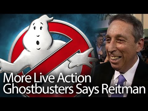Ghostbusters - More Live Action Movies Coming Says Reitman