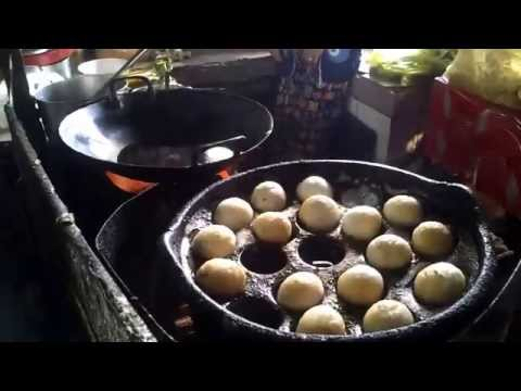 Asian Street Food - Phnom Penh Street Traffic and Food - Youtube