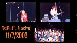 Barricada -(15)- No se que Hacer Contigo - Directo Mediatic Festival 11/7/2003