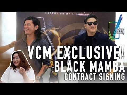 Baste Duterte and Daniel Padilla ati Black Mamba Contract Signing | VCM Exclusive