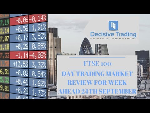 Day Trading Market Preview FTSE 100 1st October