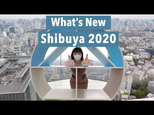 Shibuya 2020 In 3 Minutes l Cinematic  Vlog 3 (4K)