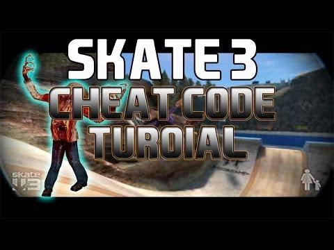 Skate 3 Cheat Codes Tutorial! Zombies/Mini Skater!