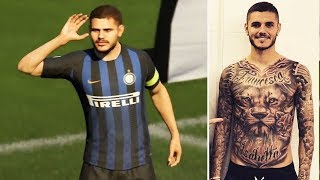 WHY ZLATAN AND ICARDI HAVE NO TATTOO IN FIFA 19