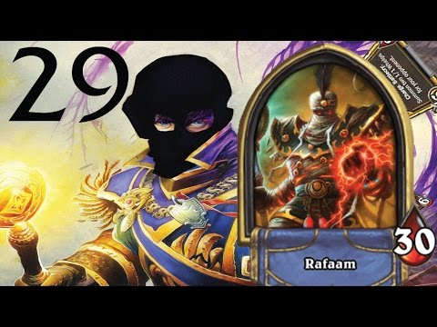 Heroic Rafaam Unleashed Versus Your cards are mine Priest (Epic Feels + Plot Twist)
