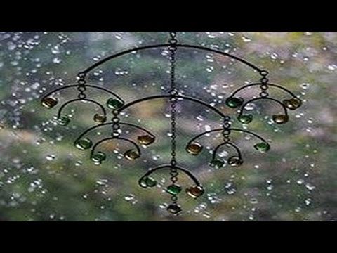 Wind Chimes in the Rain - 8 HOURS of Sleep Aid Relaxation