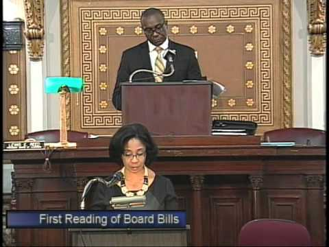 St. Louis Board of Aldermen Meeting 11/21/2014