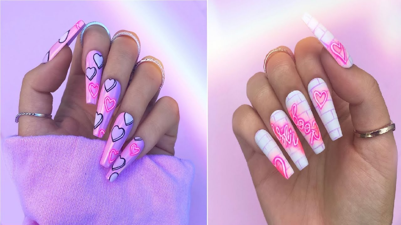 Amazing Acrylic Nail Designs To Refresh Your Nails | The Best Nail Art Ideas