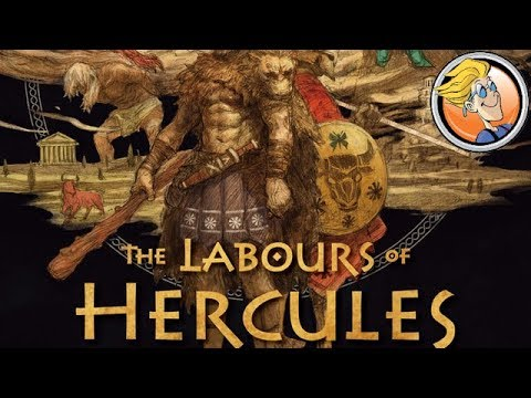 The Labours of Hercules — game preview at SPIEL