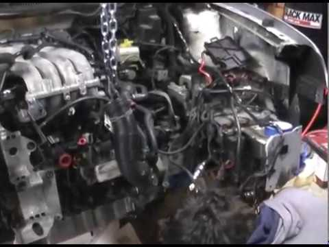 Install 2.0 VW Engine without removing Transmission