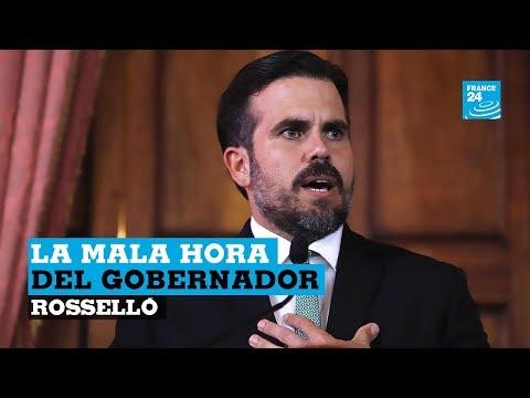 ¿Por qué los puertorriqueños exigen la cabeza de su gobernador, Ricardo Rosselló?