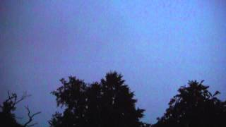 Stormy Weather over Monroe Township, NJ July 2, 2014 Pt. 1