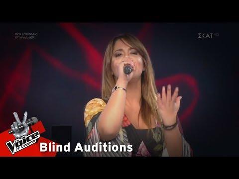 Μάιρα Ιατρού – Άσε με να σ' αγαπάω | 7o Blind Audition | The Voice of Greece