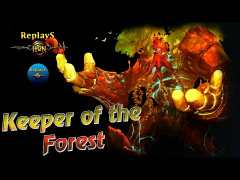 Heroes of Newerth - Premiere!!! - Keeper of the Forest - Sain`t 1750 MMR (hon russian)