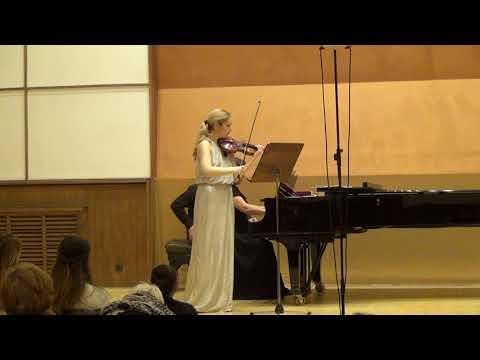 Johannes Brahms- Sonata for violin and piano No.3- II part- Adagio