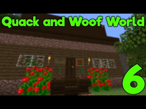 Minecraft Java - Quack and Woof World - Building A Home (6)