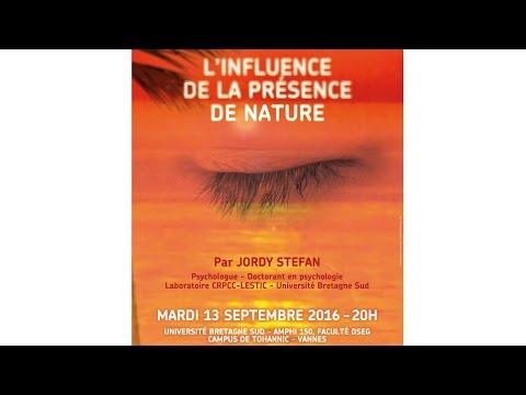 Planète-conférences - L'influence de la présence de nature
