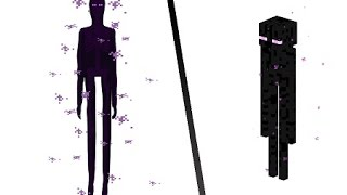 enderman in real life time lapse photoshop