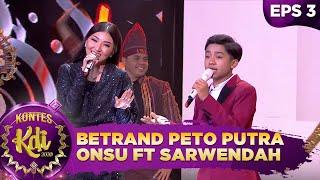 FAVORIT! Betrand Peto Putra Onsu ft Sarwendah [AKU ANAK NUSANTARA] - Kontes KDI 2020 (17/8)
