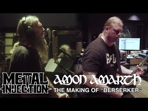 ROADKILL - Amon Amarth Studio Footage.