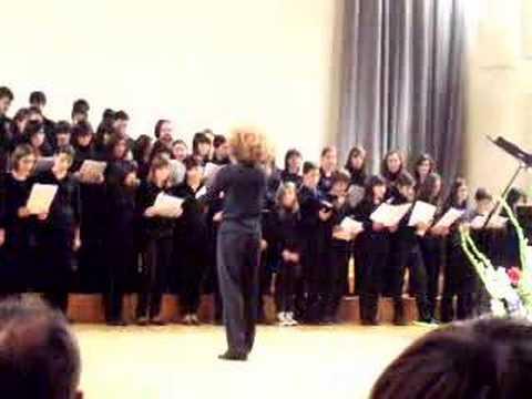 A que florezca mi pueblo - coro del Conservatorio de Oviedo