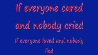 Nickelback If Everyone Cared Lyrics