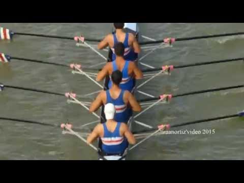 Rowing Boats & Gulls on the Tiber River in HD 1080 (manortiz)
