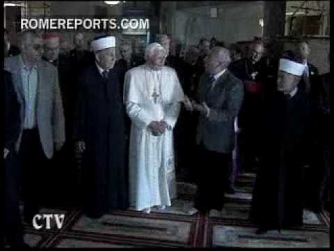 The Pope asks Jews and Muslims to focus on what unites them