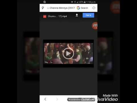 How to download Channa mereya New Punjabi...