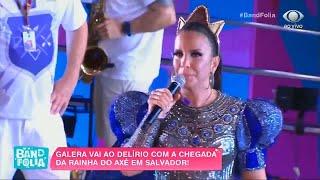 Baixar Ivete CHORA DE EMOÇÃO ao ver público cantando O MUNDO VAI   Band Folia 2020