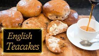 English Teacakes, Fruity & Spicy