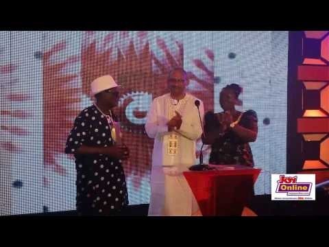 Ebo Taylor receives Life Time Achievement Award at 2014 VGMA Industry Awards
