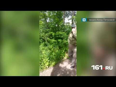 Онанист попал на видео