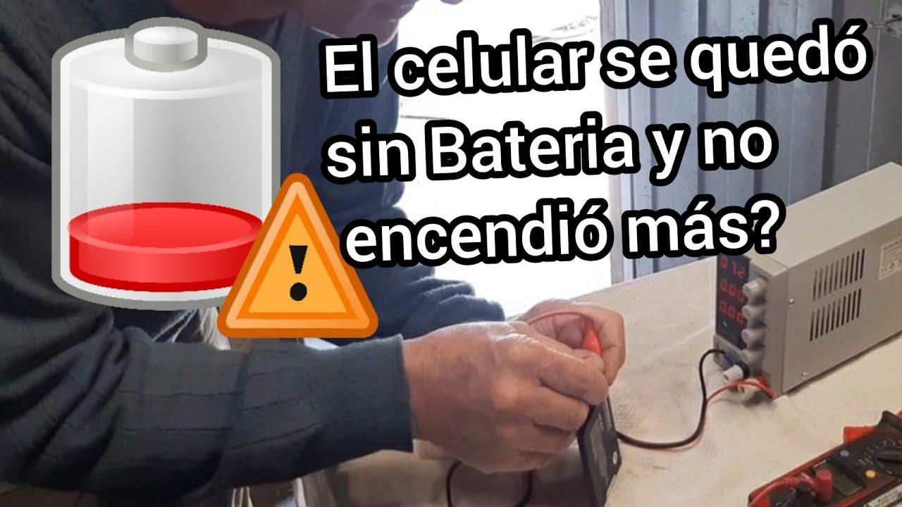 BATERIA DE CELULAR  DESCARGADA AL 0% - COMO RECUPERARLA