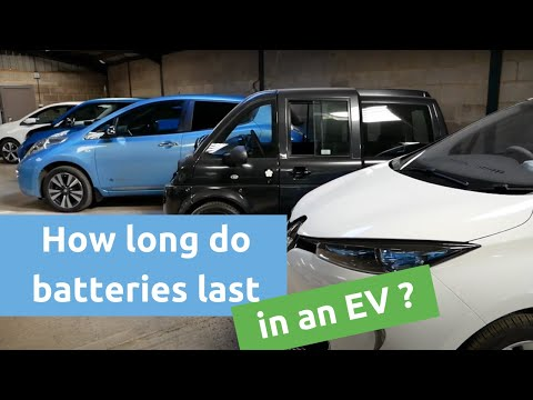 How Long Do Batteries Last In An Electric Vehicle?