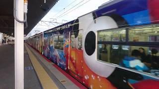大阪環状線201系 LB 6編成  安治川口駅発車 Osaka Loop Line 201 series LB 6   formation Ajikawaguchi Stat