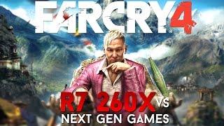 Far Cry 4 on AMD R7 260X 1080p ,Very High Ultra settings